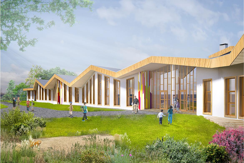 Начальная школа на 100 мест с детским садом на 99 дошкольных мест с в мкр. Таврово-10