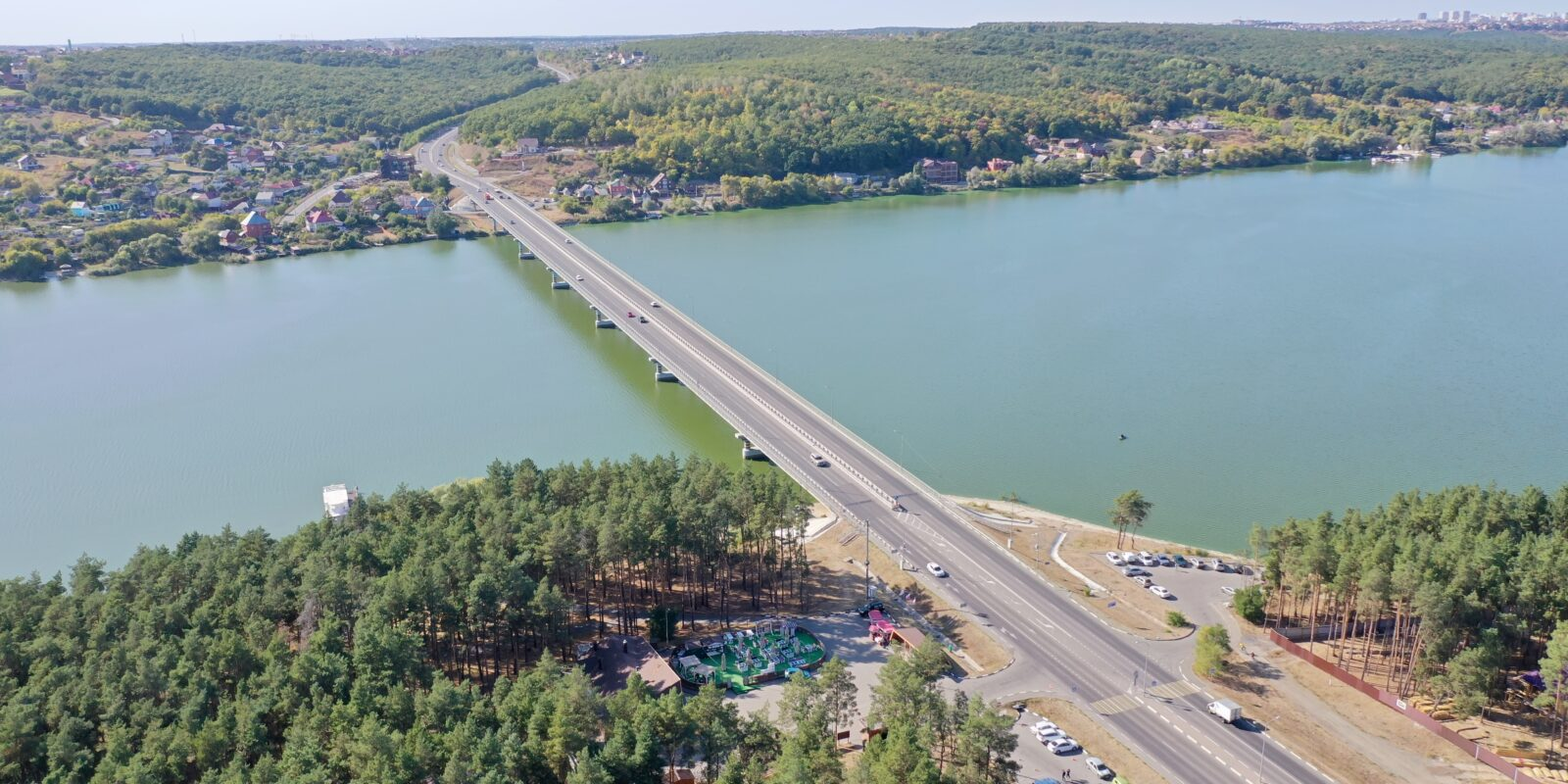 Мост через Белгородское водохранилище