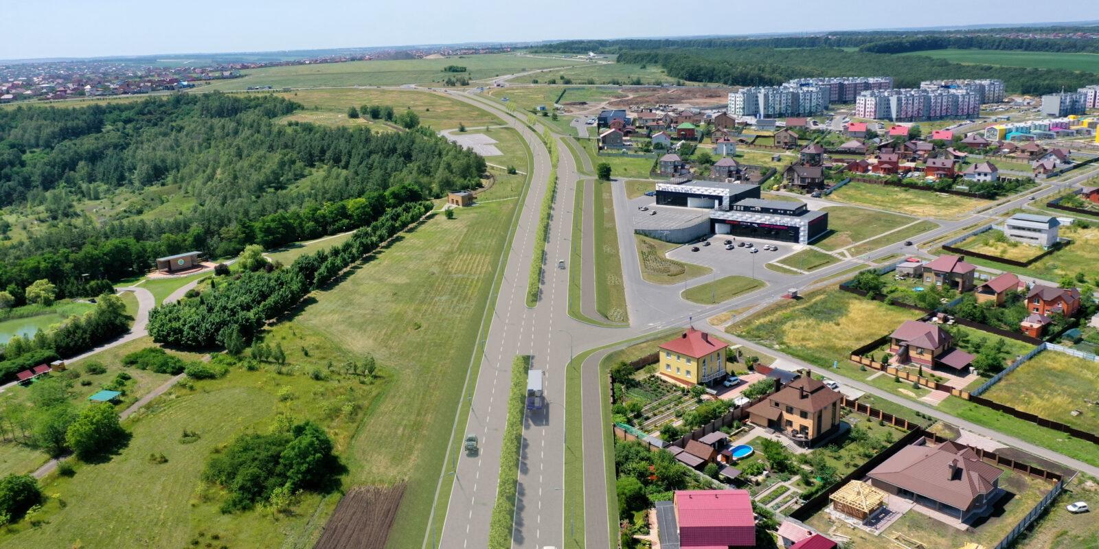 Реконструкция подъездной дороги от ул. Красноармейская до микрорайона «Юго-Западный-2» в г. Белгороде Белгородской области